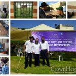 Thousands of Visitors Stop by the Chabad Tent, As Me'arat Hamachpelah Opens For Rosh Chodesh Elul