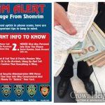 SHOMRIM ALERT: Do Not Fall Prey To Phone Scams