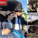 Moshe'le Holtzberg Celebrates His Bar Mitzvah