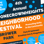 Sunday: #OneCrownHeights Festival in Brower Park