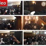 Video and Photo Gallery: Slichos In The Rebbe's Room