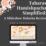 New Online and On Demand Taharas Hamishpacha Review Course for Woman
