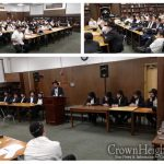 Talmidei Hashluchim Welcomed at Cincinnati Yeshiva