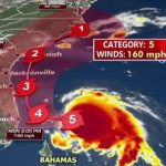 Hurricane Dorian Becomes Category 5, Set To Slam Island with 175 MPH Winds