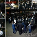 Simchas Bais Hashoeva: First Night Of Dancing on the Streets of Crown Heights