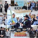 Chabad of the Airport Hosts Sukkah Event