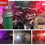 Minivan Strikes Pole in Late Night Accident Eastern Parkway and Troy Ave