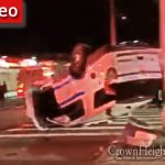 NYPD Vehicle Overturns in Brooklyn, Two Officers Injured