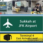 Chabad of the Air: Sukkah At JFK Airport