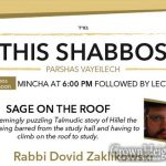 Shabbos at the Besht: Sage on the Roof