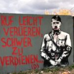Portrait of Adolf Hitler Painted on Wall Near Grave of Nahman of Breslov in Ukraine