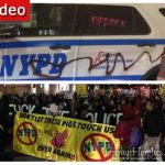 "Demonstrators Flood Downtown Brooklyn and ""Take Over"" Subway"