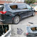 Minivan Broken Into Overnight in Crown Heights