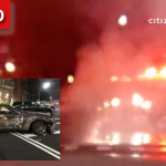 Manhole Explosion Rocks Crown Heights Block Friday Night, One Vehicle Destroyed (UPDATED)