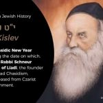 The 19th of Kislev: Rosh Hashanah of Chassidus