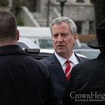 DeBlasio: NYPD To Enforce 10 Person Minyan Limit