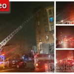 Early Morning Fire Burns Through Crown Heights Corner Building, No Injuries