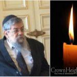 BDE: Rabbi Shalom Dov Ber Levy, OBM