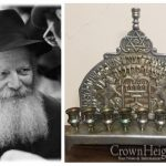 The Chanukah Menorah of the Rebbe