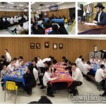 Celebrating Rosh Chodesh Kislev in Yeshivas Lubavitch Cincinnati