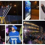 800 Attend Lighting at Lubavitch House in Stamford Hill