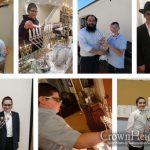 Ten Happy Winners of Gemara Bifnim Menorah Raffle