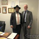 German Ambassador Visits Jewish Community For Holocaust Remembrance Day