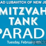 Morristown To Hold Mitzvah Tank Parade To Mark 70 Years
