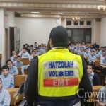Oholei Torah Holds Scooter Safety Days