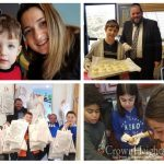 Children Join Chabad of Orange County For Chanukah Program