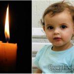 BDE: Rivkah Koncepolski, 1 Year Old, OBM