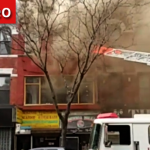 Firefighters Respond to 2-Alarm Fire on Nostrand Ave