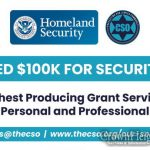 Organization To Help Secure Grants For Security