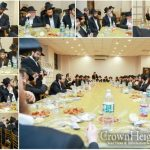 "Over 100 Mechanchim Enthralled At Yud Shevat ""Shivim Shana"" Farbrengen"