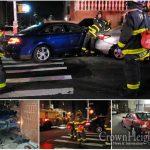 A Hit And Run Creates a Three Car Crash in Crown Heights
