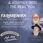 LIVE AT 7:30PM: Yud Shvat Mega Farbrengen In Monsey