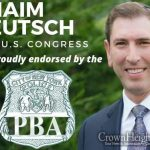 The NYPD PBA Endorses Councilman Chaim Deutsch Congress