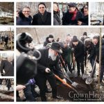 Kiev Park Gets 30 Apple Trees In Honor Of Tu B'Shvat