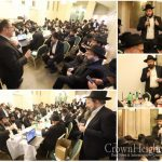 Paris Shluchim Meet To Discuss Upcoming Yomim Tovim