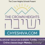 Crown Heights Yeshivos Join For Online School