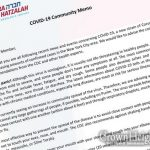 Chevra Hatzalah Publishes Coronavirus Memo For The Jewish Community