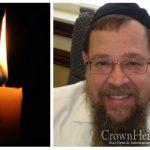BDE: Rabbi Gershon Sabol, 64, OBM