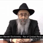 Rabbi Gluckowsky Closes Main Chabad Shul In Rechovot Over Spread of Coronavirus