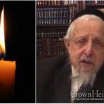 BDE: Harav Mordechai Gurary, 84, OBM