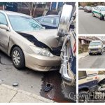 Serious Crash Involves Sanitation Car In Crown Heights
