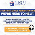 Online Alternative for Closed Schools