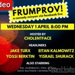 TONIGHT 8:00PM: Frumprov Live #2