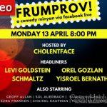 TONIGHT 8:00PM: Frumprov Live #3
