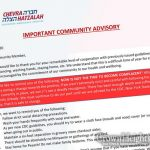 Chevra Hatzalah Releases COVID-19 Advisory