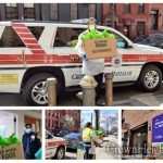 Crown Heights Hatzalah Delivers Gifts of Food To Hospital Staff